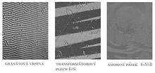Vystupy z Kerrova mikroskopu