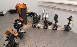 Sestava pro magnetooptická měření
