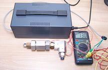 MHD modulátor – testování napětí